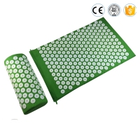 Shakti Mat Acupressure Mat And Pillow 2 In 1 Set Body Head Back Foot Massage Cushion