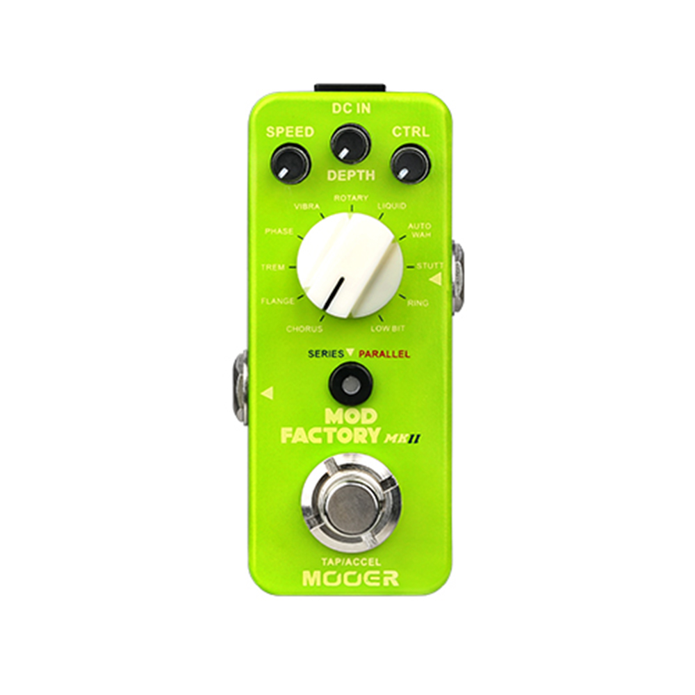 Mooer Mod Factory MKII Multi Modulation Guitar Effect Pedal Electric Effects Stompbox True Bypass with 11 Algorithms new effect pedal mooer solo distortion pedal full metal shell true bypass