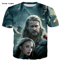 PLstar Cosmos Brand Marvel Movie Raytheon 3D Printing T Shirt Men And Women Casual Fashion Shirt