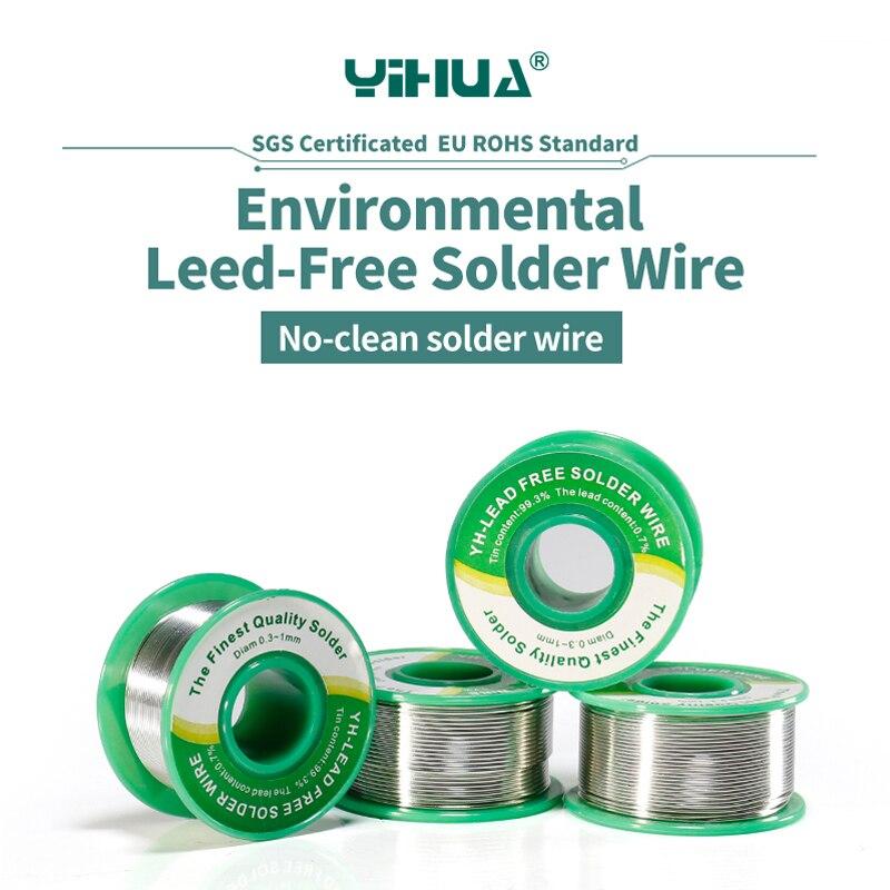YIHUA Filo Ecologico senza piombo Filo di Saldatura con 0.8mm 1.0mm di Alta qualità della saldatura filo di Stagno linea solder
