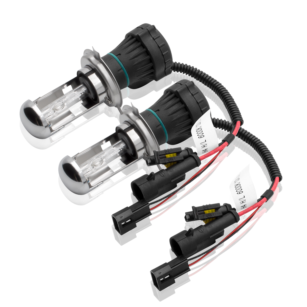 Safego Bixenon H4 HID Headlight Penggantian Untuk Mobil Sepeda Motor - Lampu mobil - Foto 2
