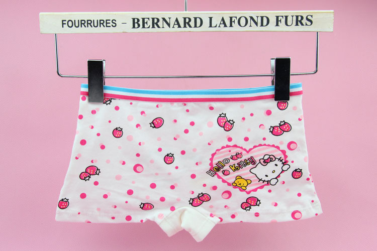 1386cfe7697 Free shipping New Hell Kitty Panties 6pcs lot Baby Girls Fashion cute  Underwear Kids Cute Cartoon Panties Children soft boxers-in Panties from  Mother   Kids ...