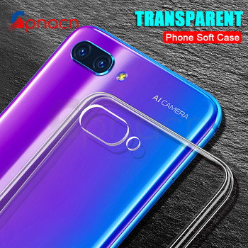 GPNACN Ultra Thin Soft Transparent TPU Case For Huawei Honor 10 Lite V10 Honor 9 Lite V9 Play 8 Lite Silicone Full Cover Cases Half-wrapped Cases