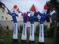 Бесплатная доставка + Вентилятор Привлекательным надувной воздушный костюм танцора/танцор неба/танцор статуэтки/Sky dancer для партии событий на 1 год компл.