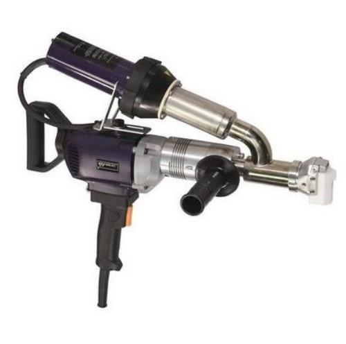 WELDY 3400W Handheld Plastic Extrusion Welding Machine kit 220V Hot Air Plastic Welder Gun Vinyl Weld