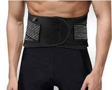 Spine Support Belt Double Pull Lumbar Lower Back Support Brace Exercise Belt for Back Waist Lumbar Pain Relief цена