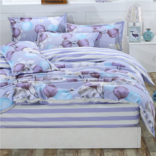 1Pcs Duvet Cover Plaid Stripes Quilt Cover Skin Care Cotton Bedclothes 160x210cm/180x220cm/200x230cm Size