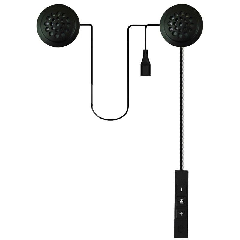 Motor Wireless Bluetooth Headset Motorcycle Helmet Earphone Headphone Speaker Handsfree Music For MP3 MP4 Smartphone