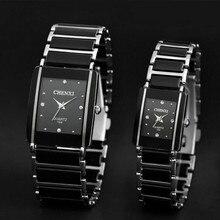 CHENXI имитация керамики кварцевые часы для мужчин и женщин лучший бренд класса люкс известный наручные мужские часы для Relogio Masculino
