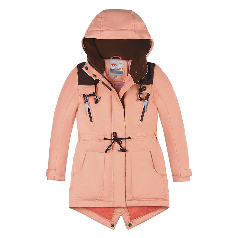 2018 New Winter Jacket Girls Coat Parka Cotton Padded Coat Jacket Kids Hooded Winter Jackets Girl Winter Clothes Winter Parkas 2017 new fashion women long coat cotton padded clothes thicken winter female parkas lamb wool hooded drawstring jacket plus size page 1