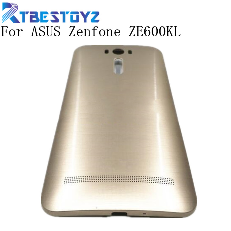 Battery Back Cover 6.0'' For ASUS Zenfone 2 Laser ZE600KL ZE601KL Z011D Battery Door Back Case With Power Button Housing image