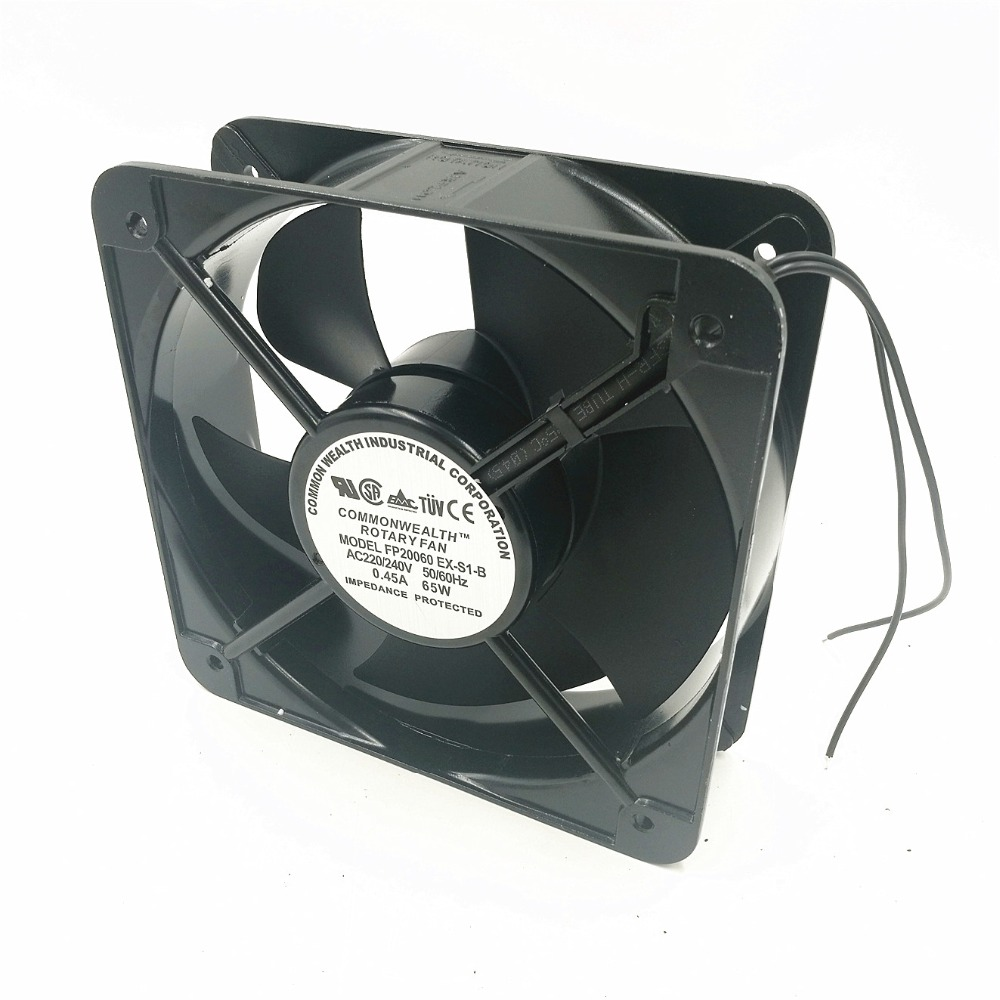 FP20060EX-S1-B Axial Fan 220V 65W 0.45A 200*200*60 Cooling Fan Air Blower цена 2017
