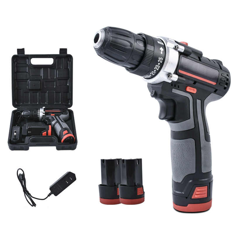Rechargeable Miniature Multifunction C Tool Drill Electric Screwdriver Manual Drill Dropshipping