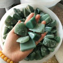 Natural Big Aventurine Crystal gravel mineral purify degaussing Fish tank Ornamental Specimen collection geological teaching
