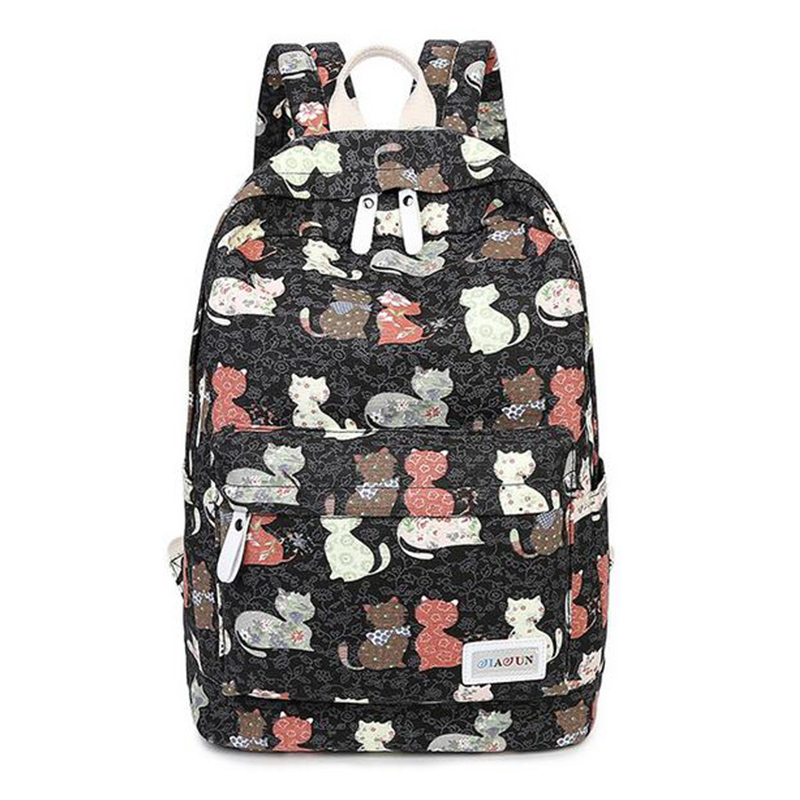 New Arrival Sweety Cat Girl's Backpacks For Teenage Girls backpacks for college students School Bags