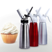 Stainless Steel Cream Whipper Milk Frother Butter Dispenser 0.5L Fancy Coffee Maker For Coffee DIY Espresso Coffee Maker