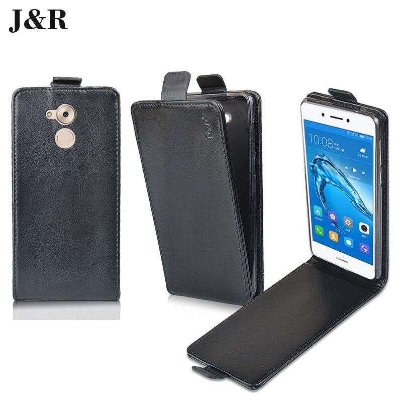 J &#038; R для <font><b>Huawei</b></font> наслаждаться 6 s/Honor 6C/Нова <font><b>Smart</b></font> 5.0 случае откидную крышку снизу вверх -Подпушка открытым телефона