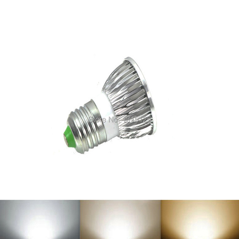 E27 LED Spotlight COB, 3W Spot жарық шамдары Жылы / - LED Жарықтандыру - фото 2