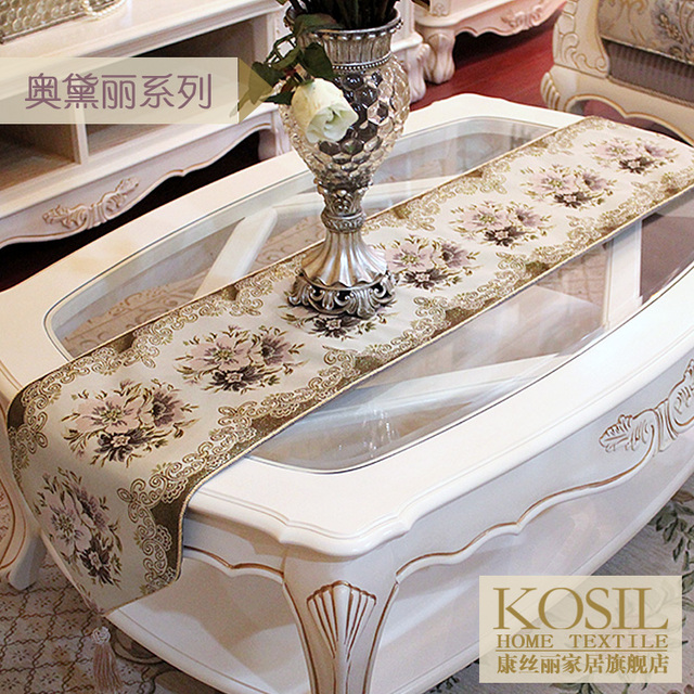 Fashion Quality Fabric Dining Table Flag Table Cloth Tablecloth - Office desk table cloth