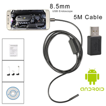 Wimius Mini Camera 6 LED Waterproof Inspection Video Cam 8.5mm Full HD 720P 5M/7M Android OTG USB Cable Endoscope For Car Repair