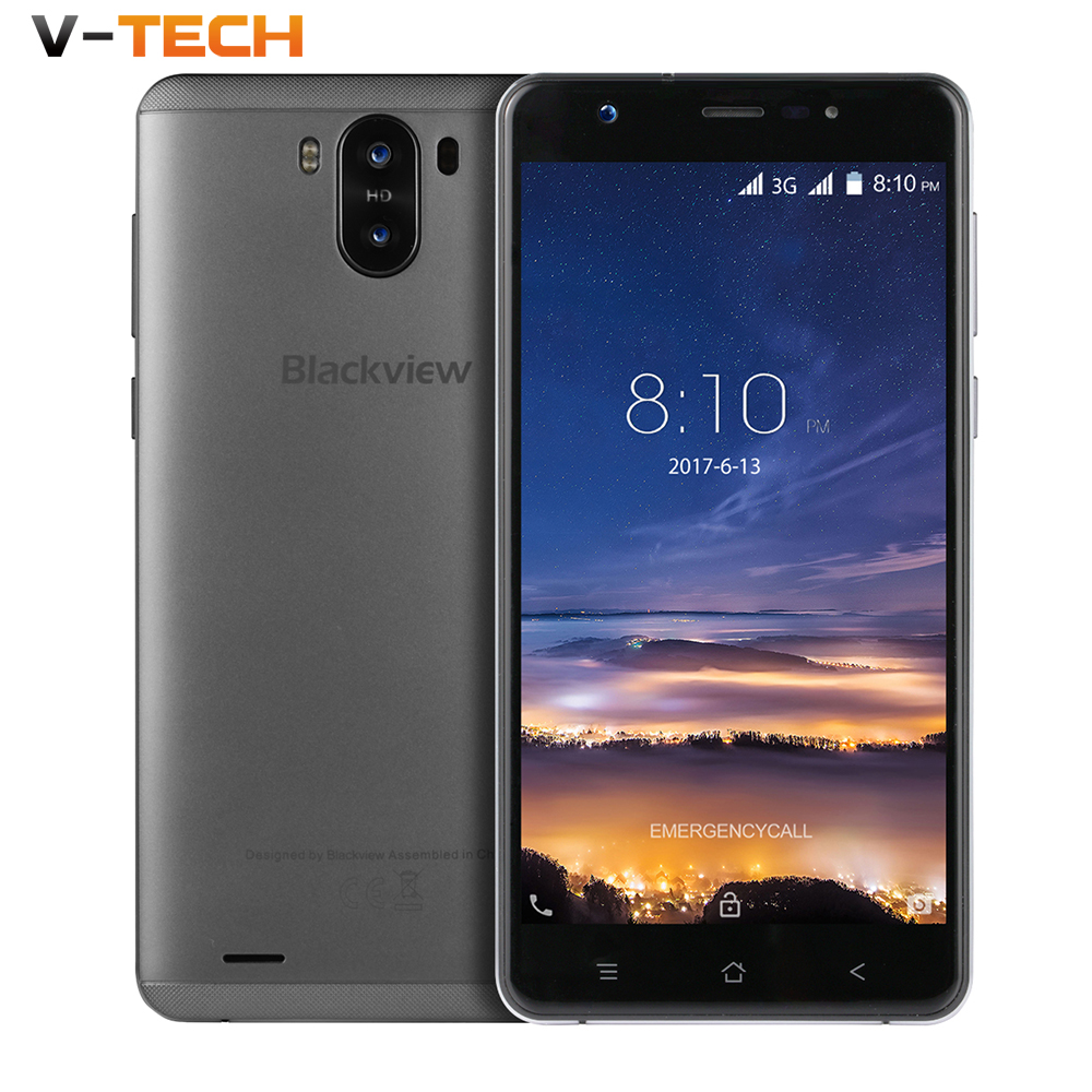 Blackview R6 Lite 3G Dual Smartphone MTK6580 Quad Core 1GB RAM 16GB ROM 5.5 Inch Android 7.0 8MP Dual Rear Cams smartphone