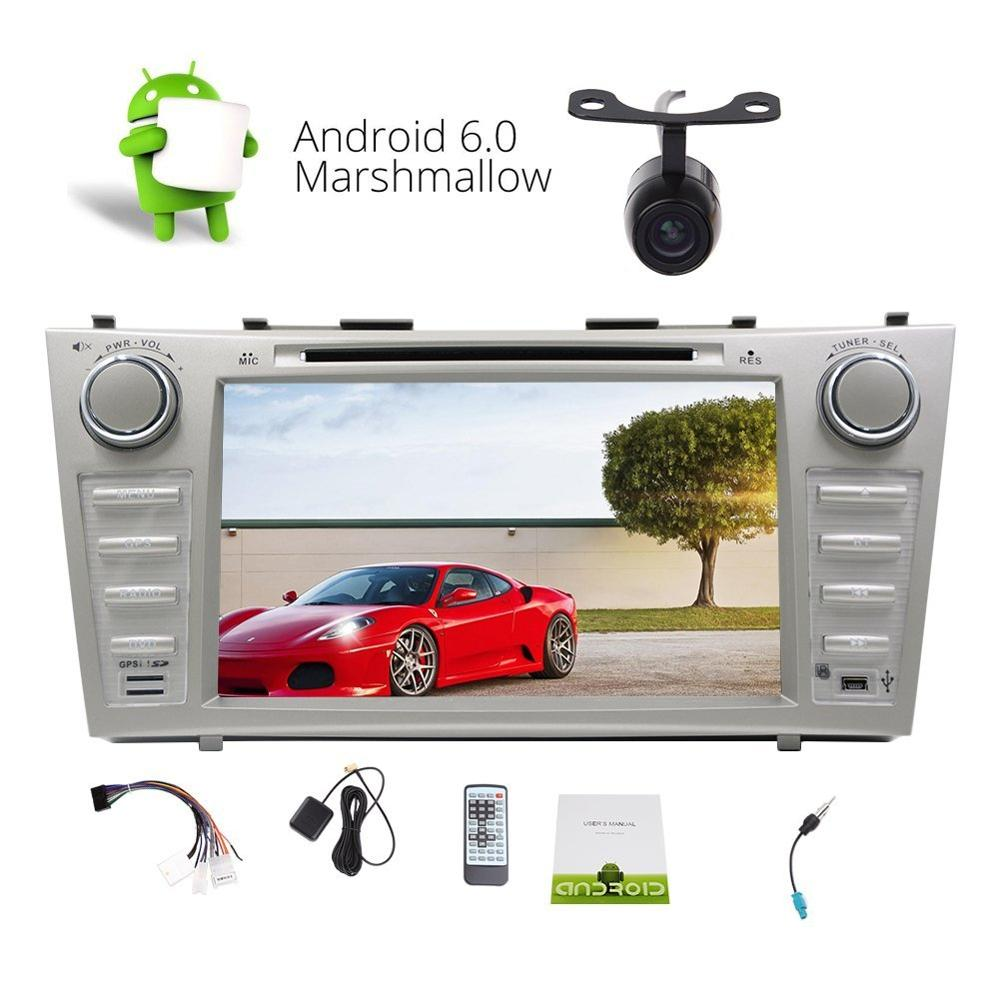 "Double din DVD Player Android 6.0 Quad-core Stereo in Dash 8""Car Radio Stereo GPS Navigation Bluetooth Headunit CD DVD Player"