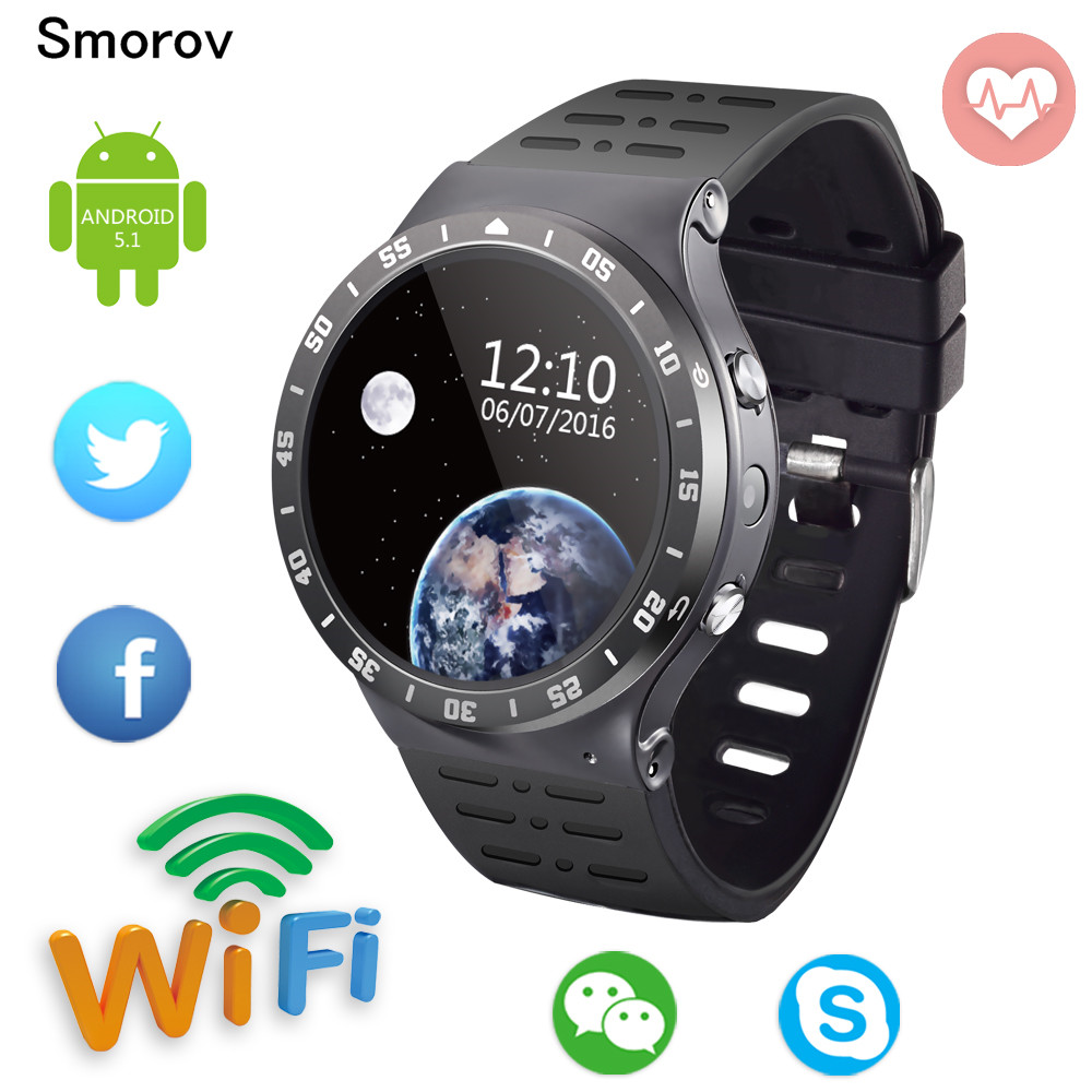S99A 3G Smartwatch Phone 1.33 inch Android5.1 MTK6580 Quad Core 1.3GHz 8GB ROM with Camera WiFi Bluetooth GPS Smart Watch phone finow x5 air 3g smartwatch phone 1 39 inch android 5 1 mtk6580 quad core 1 3ghz 2gb ram 16gb rom gps bluetooth 4 0 pedometer