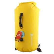 LUCKSTONE  25L 35L 60L Outdoor Rafting Waterproof Bags Swimming Snorkeling Bags Inflation Backpack Waterproof BagsBig Capacity