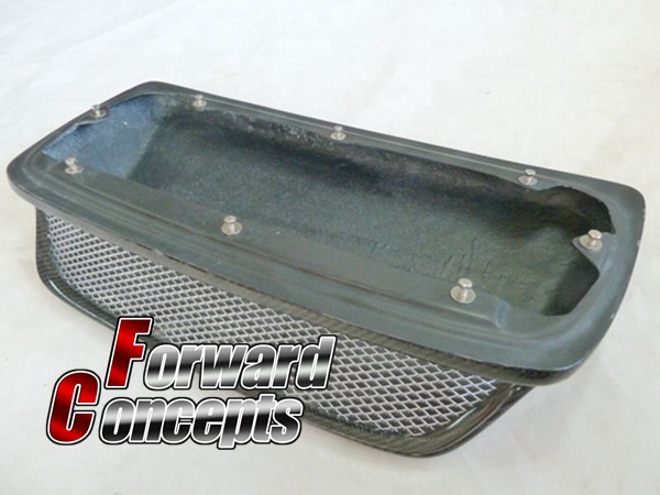 FOR CARBON FIBER 02 03 IMPREZA GDB GDA GG WRX STi HOOD BONNET INTAKE VENT SCOOP in Body Kits from Automobiles Motorcycles