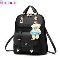 DIGERUI Women Backpack New Spring And Summer Students Backpack Girls Backpacks With Bear Backpacks For Teenager