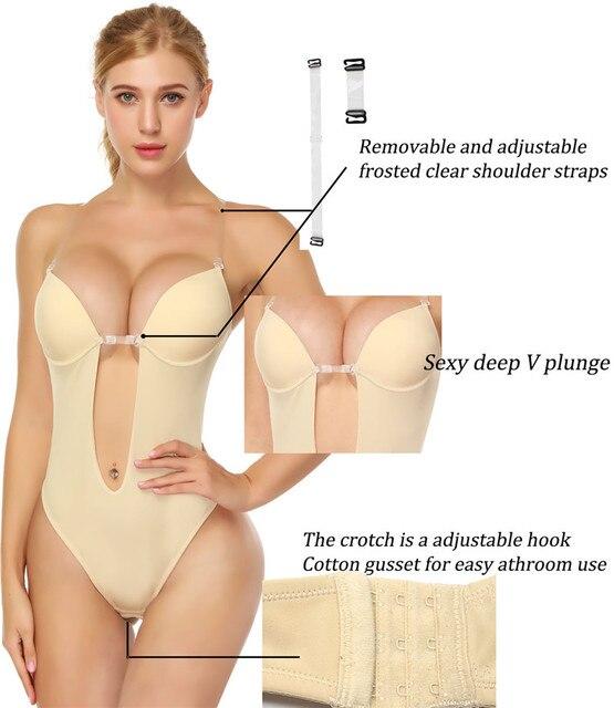 NINGMI Latex Shaper Body femmes post-partum contrôle ferme tongs corps complet porte-documents Shapewear modèle Stap taille formateurs G-string