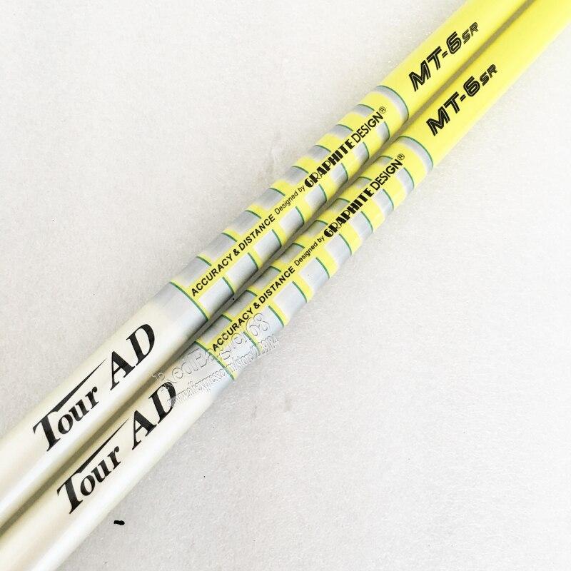 Cooyute Nouvelle Golf shaf VISITE AD MT-6 Graphite De Golf Clubs arbre S ou SR flex De Golf pilote bois arbre dans le choix 1 pcs/lot Freeshipping