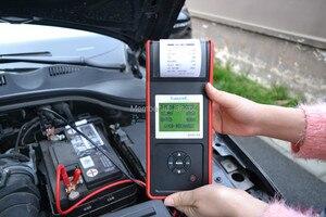 Image 4 - Lancol MICRO 568 12V โหลด Diagnosti กับเครื่องพิมพ์แบบดิจิตอล SOC SOH CCA IR CCA100 2000