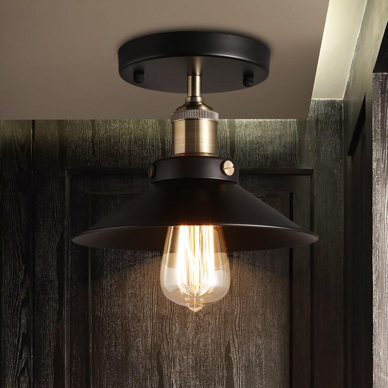 Loft Edison Vintage Ceiling Lamp fixture retro kitchen ceiling ...