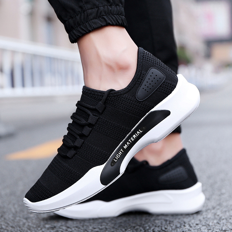 2019 Male Breathable Comfortable Casual Shoes Fashion Men Canvas Shoes Lace Up Wear resistant Men Sneakers Zapatillas Deportiva in Men 39 s Casual Shoes from Shoes