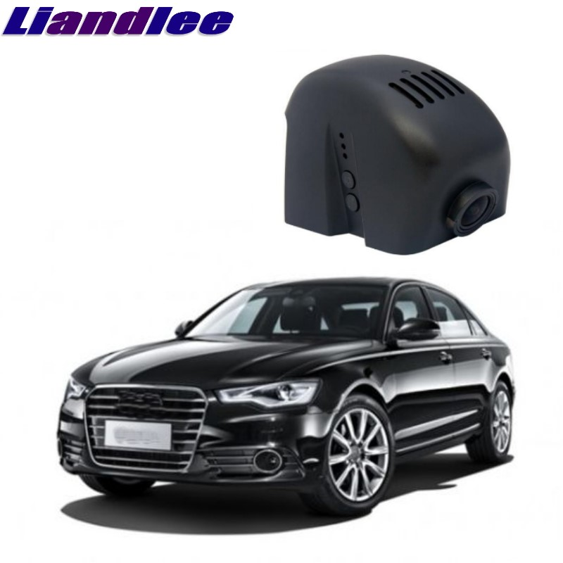 Liandlee For Audi A6 A6L S6 RS6 C7 2011~2016 Car Black Box WiFi DVR Dash Camera Driving Video Recorder