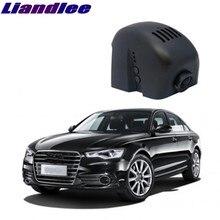 Liandlee для Audi A6 A6L S6 RS6 C7 2011 ~ 2016 черный ящик автомобиля Wi-Fi DVR тире Камера вождения видео регистраторы
