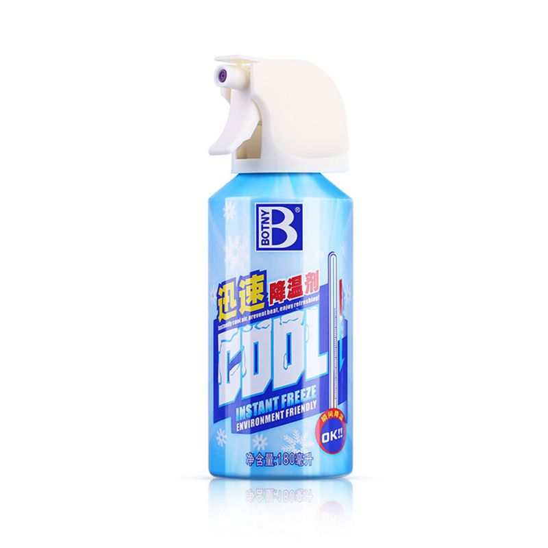Car Universal Coolant Dry Ice Air Styling Spray Summer Fast Coolant Vehicle Ice Spray