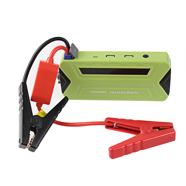 Portable 12000mAh Mini Car Battery Jump Starter Power Bank Multifunction SOS Light for 12V Diesel and Petrol Car CS014GN