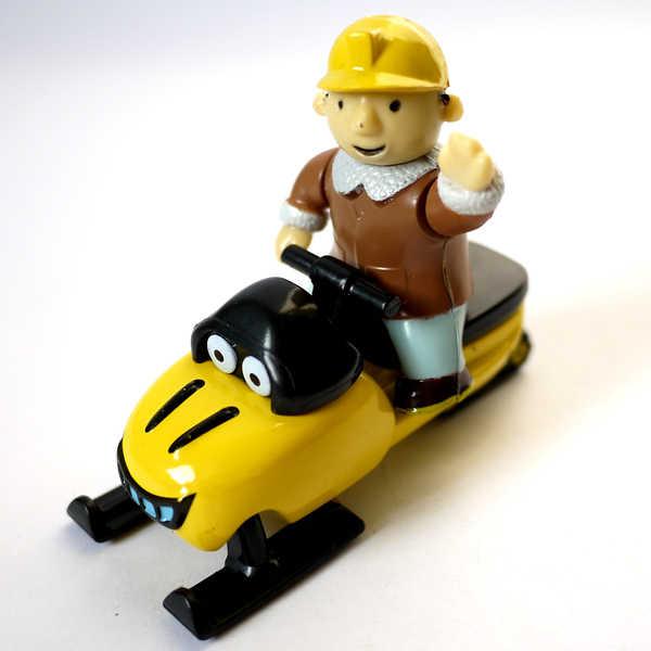 D907 무료 배송 뜨거운 판매 밥 빌더 엔지니어 합금 자동차 모델 장난감 자동차 클래식 컬렉션 (밥 + 썰매)