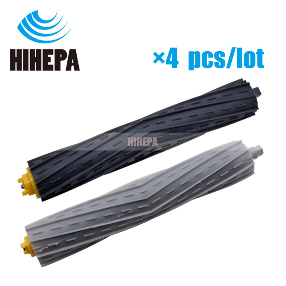 4pcs Replacement Tangle-Free Debris Extractors for iRobot Roomba 800 900 Series 870 880 885 960 980 Sweeping Robot Vacuum Part(China)