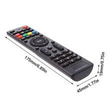 Controle remoto universal led ultrafino para smart tv, substituto de controle remoto para sony philips lg samsung vicio supra bbk izumi pa