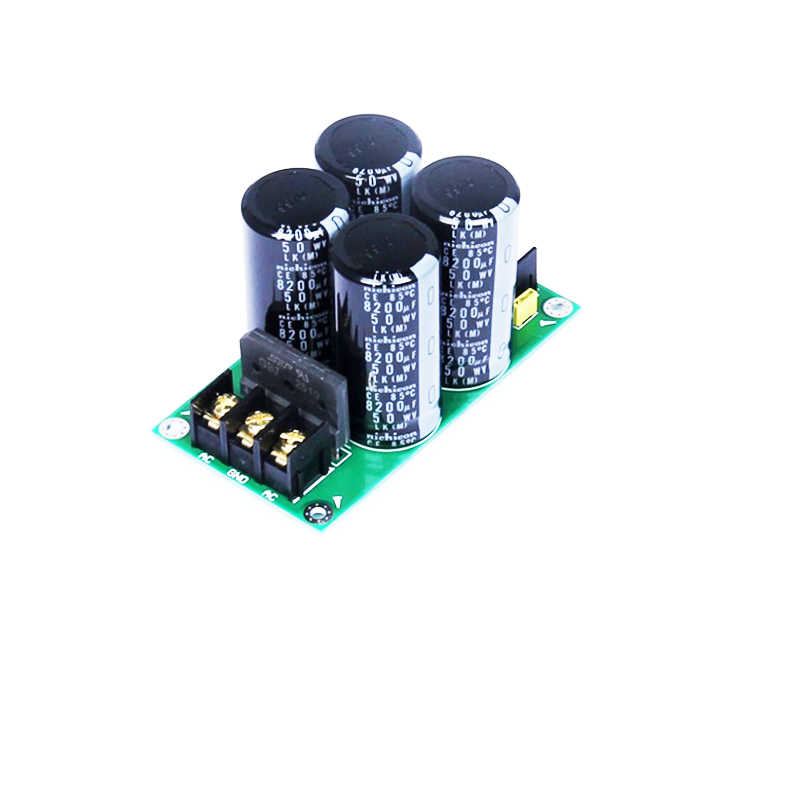 High-power amplifierS single-bridge rectifier filter power board (8200uf / 50V * 4) AC to DC finished board