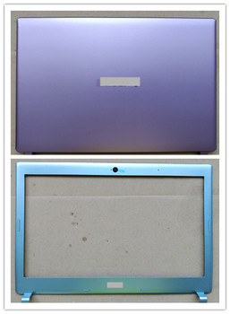 New laptop Top case base lcd back cover +lcd front bezel screen frame for Acer MS2360 V5-431G V5-471G