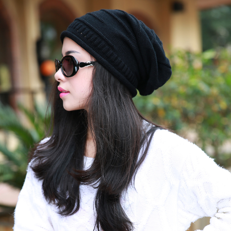 ... new product 94cd0 c35ab winter hat women 2015 solid Casual wool headwear  hat dg beanie hat ... dcd4411af4d
