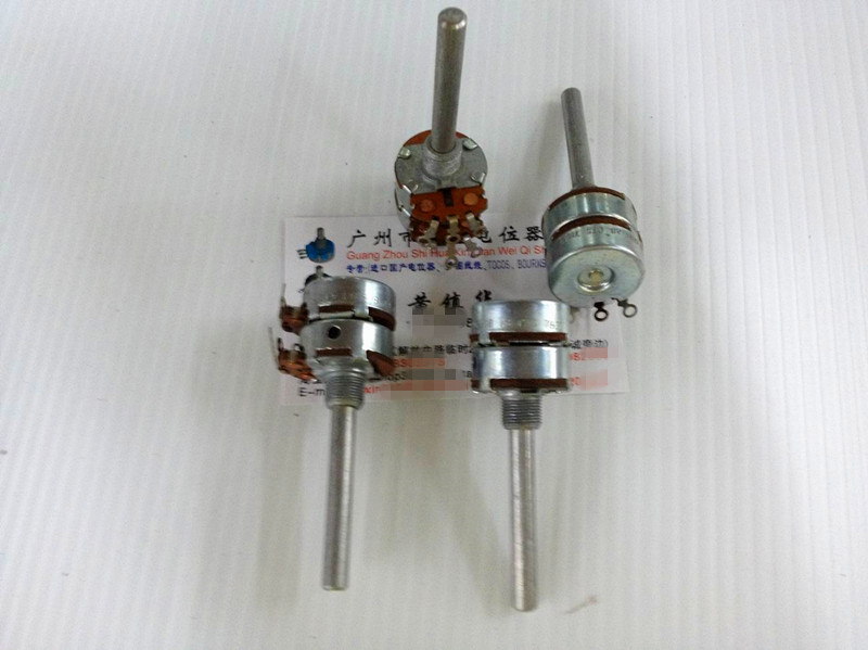 Original new 100% US import dual potentiometer 2.5K 6DB 7832 handle long 50MMX6MM (SWITCH)Original new 100% US import dual potentiometer 2.5K 6DB 7832 handle long 50MMX6MM (SWITCH)