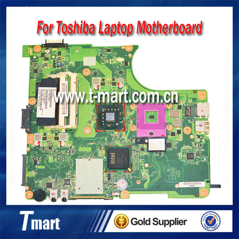 все цены на  100% working laptop motherboard for toshiba L300 V000138700 6050A2264901-MB-A02 system mainboard fully tested  онлайн