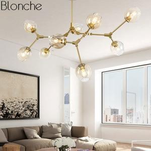 Image 2 - Современная люстра в скандинавском стиле, светодиодный потолочный светильник в стиле индастриал для гостиной, спальни, кухни, подвесные осветительные приборы