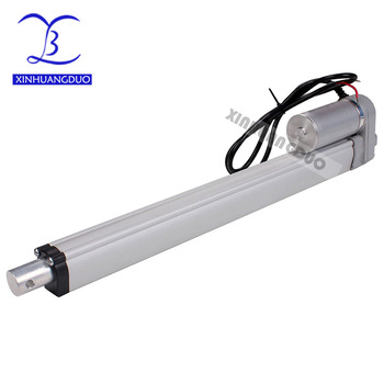 Electric Linear Actuator 12v24V DC Motor 400mm Stroke Linear Motion Controller 5mm/s-20mm/s thrust 700N-1500N Lift for Electric
