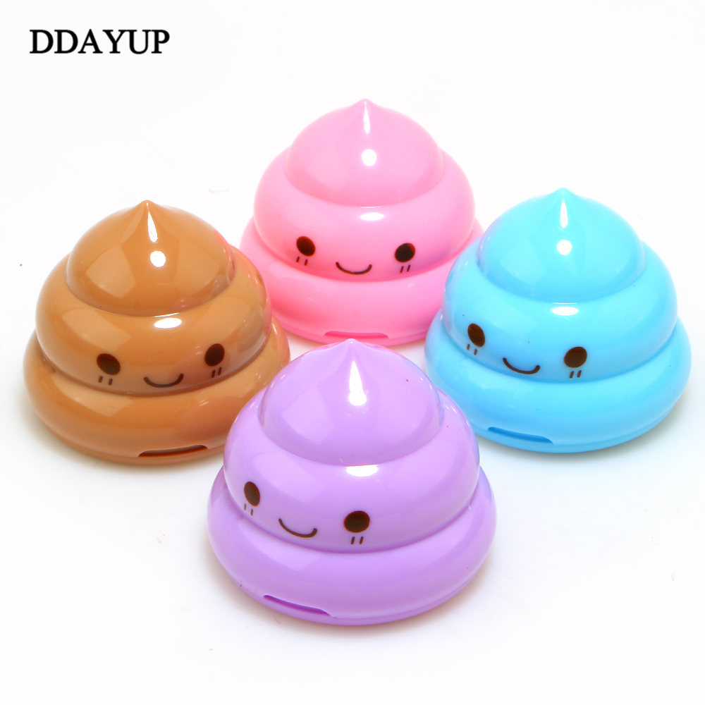 Back To Search Resultsoffice & School Supplies Pencil Sharpeners Inventive Apontador Kawaii Shit Pencil For Sharpener Shape Cutter Knife Double Orifice Pole Piece Promotional Originality Gift Stationery Fashionable Patterns